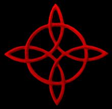 Celtic compass rose knot sm