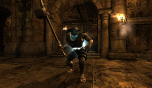Gladiator Hammer in Colosseum