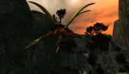 Winged Demon in Haunted Valley