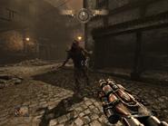 Leper Zombie in Town (HD)