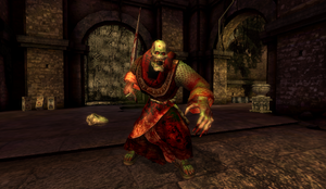 Devil Monk in Dead Marsh