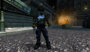 Sprayer Gun in Riot