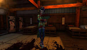 Geisha in Japanese Massacre