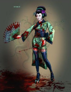 Concept art of Geisha V2