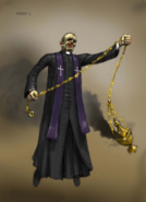 Concept art of Priest
