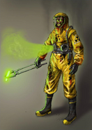 Concept art of Radioactive Operator