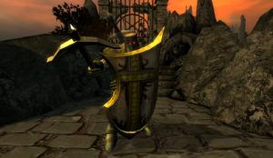 Templar Knight in Haunted Valley