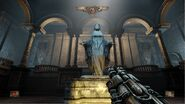 H&D Chapter 1 Level 3 - Atrium Complex - Holy Mary Statue