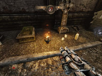 H&D Chapter 1 Level 1 - Cemetery - Secret 3 (First Candle)