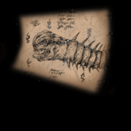 Sketch earthworm