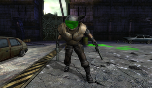 Green Lab Commando in Nuclear Plant