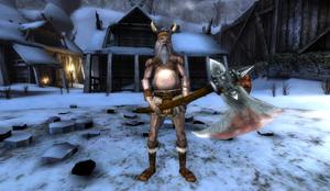 Viking Berserker in Ragnarok