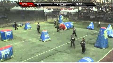 XSV dominates X-Factor NPPL paintball Surf City Open 2011