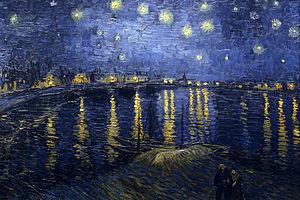 Starry night ober the rhone