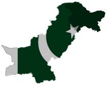 Pakistan map by ASP