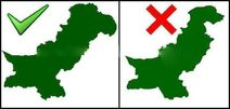 The Real Map Of Pakistan
