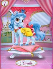 Sweetie in Palace Pets App