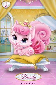 Beauty in Palace Pets App