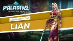 Paladins - Lian - Ability Breakdown