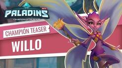 Paladins - Champion Teaser - Willo, Of The Summer Court