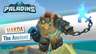 Paladins - Champion Teaser - Makoa, The Ancient