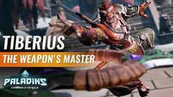 Paladins - Champion Teaser - Tiberius, the Weapons Master
