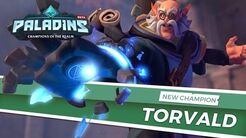 Paladins - Champion Teaser - Torvald, The Runic Sage