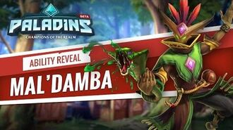 Paladins - Mal'Damba - Ability Reveal
