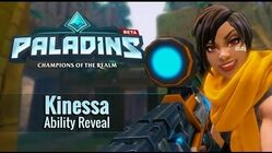 Paladins - Kinessa - Ability Reveal