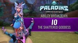 Paladins - Ability Breakdown - Io, the Shattered Goddess