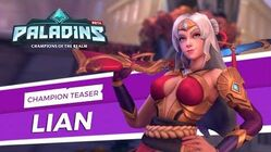 Paladins - Champion Teaser - Lian, Scion of House Aico