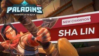 Paladins - Champion Teaser - Sha Lin, The Desert Wind
