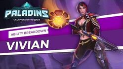 Paladins - Ability Breakdown - Vivian, The Cunning