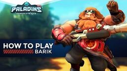 Paladins - How to Play - Barik (The Ultimate Guide!)