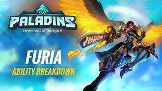 Paladins - Ability Breakdown - Furia, The Angel of Vengeance