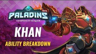 Paladins - Ability Breakdown - Khan, Primus of House Aico
