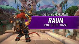 Paladins - Ability Breakdown - Raum, Rage of the Abyss