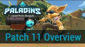 Paladins - Closed Beta Patch 11 Overview
