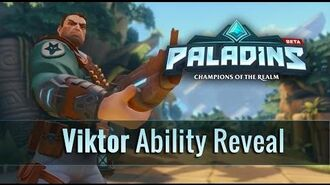 Paladins - Viktor - Ability Reveal