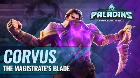 Paladins - Champion Teaser - Corvus, The Magistrate's Blade