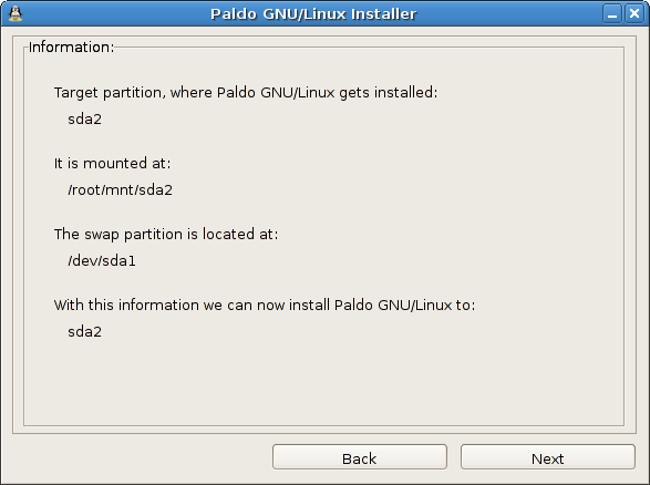 Partitioninfo new gtk2