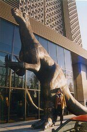 Iguanodon sculpture brussels email