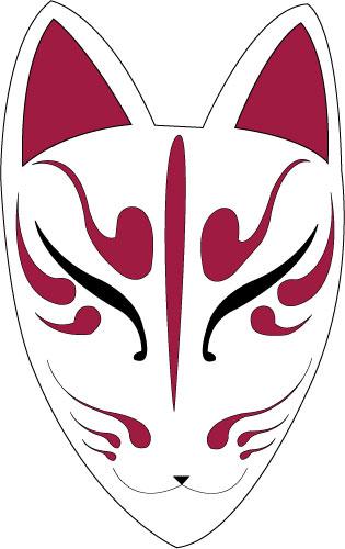 Kitsune mask by amishgirlbrooklyn