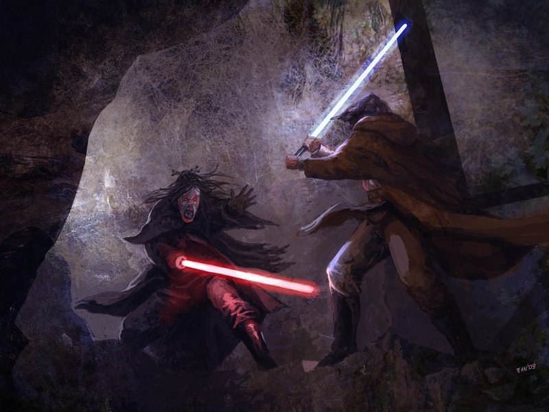 Jedi vs Sith by weaselpa
