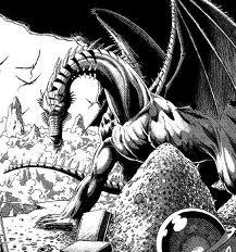 White Horned Dragon