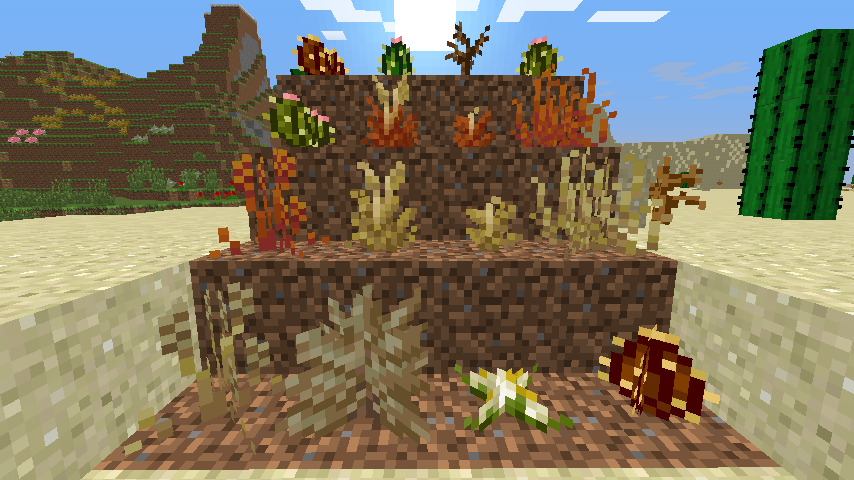 Desert Flowers | Pam's Minecraft Mods Wiki | FANDOM powered by Wikia