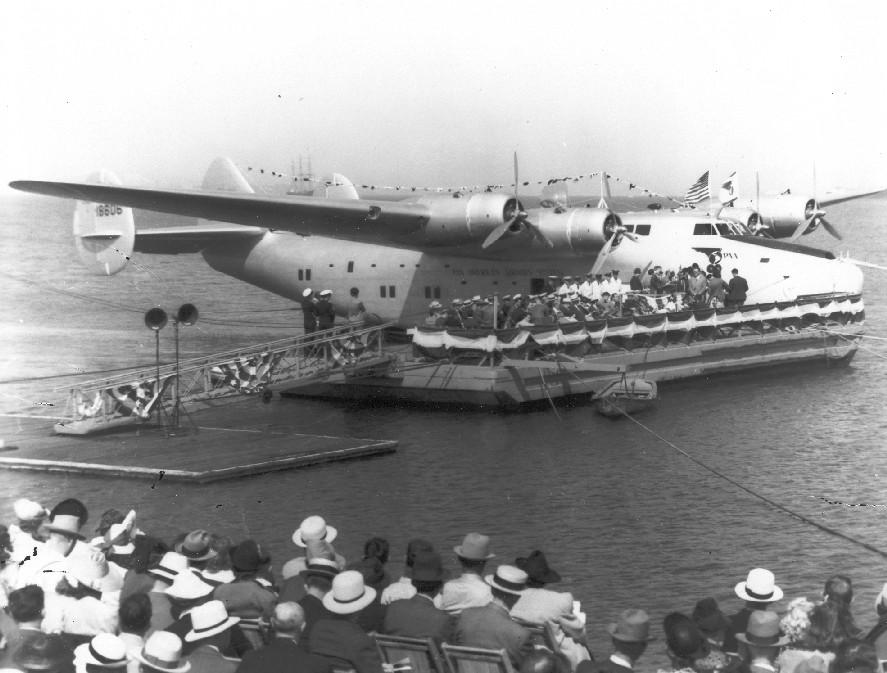 Pan Am Clippers Treasure Island