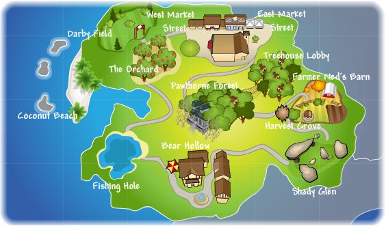 Pandanda Map