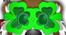Green Clover Glasses