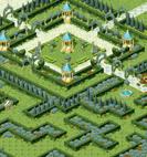 Minimap Rose Field 3 - Maze of Blue Rose